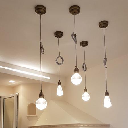 Illuminazione faretti il sito nr 1 per illuminare a led for Lampade interni design