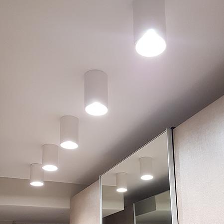 Illuminazione A Soffitto Con Led.Illuminazione A Soffitto Cheminfaisant