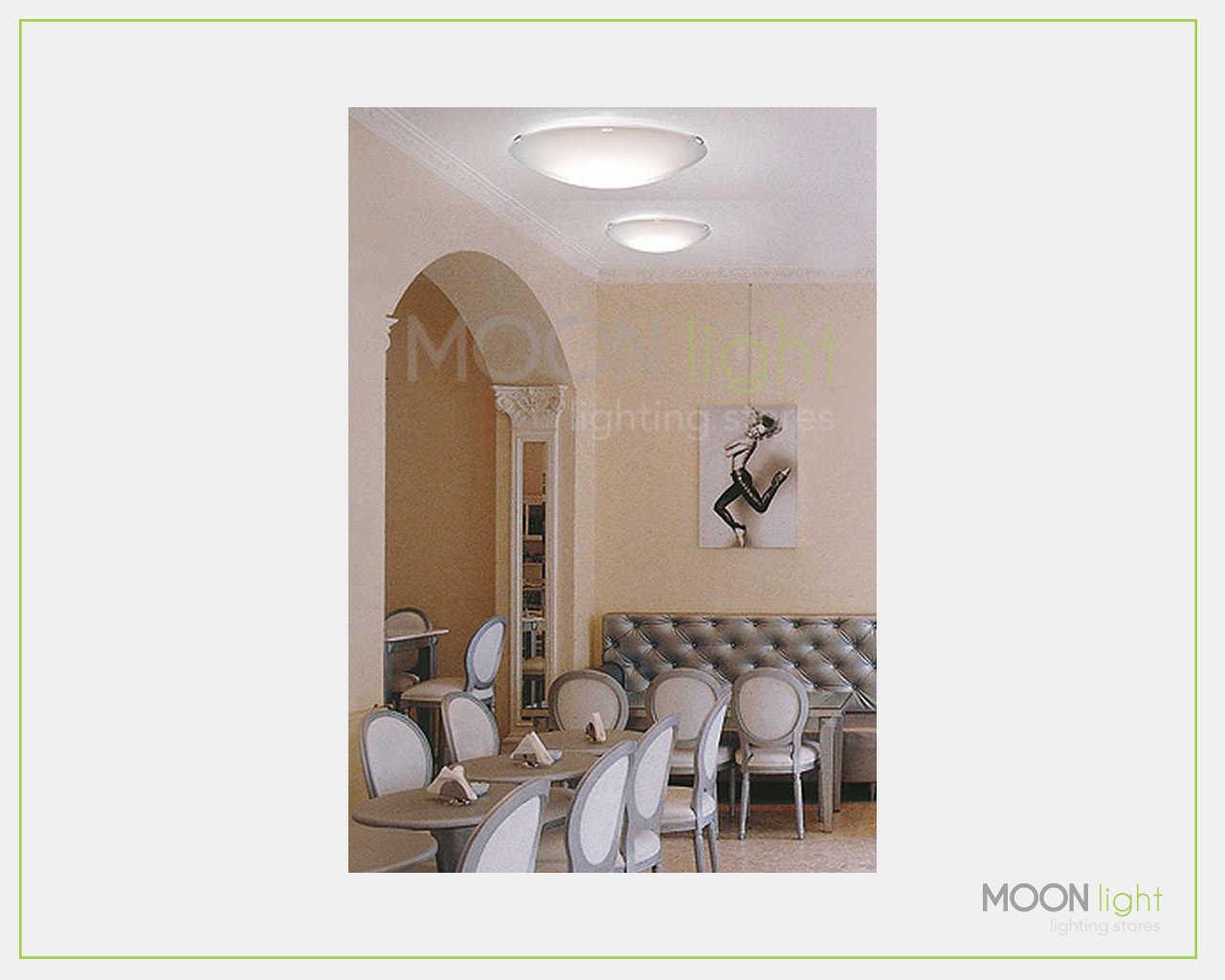 Plafoniere Da Negozio : Plafoniera soffitto led