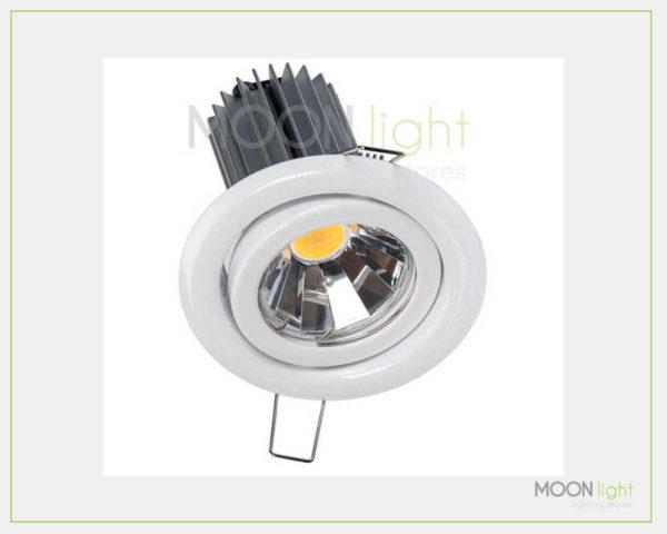 Faretto Incasso Orientabile COB LED 7W