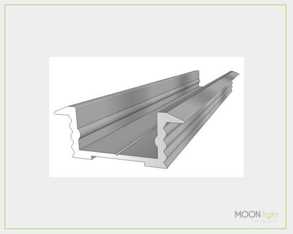 Profilo Alluminio Incasso