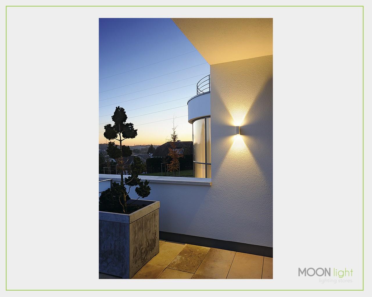 Lampada libro led esterno bianco for Illuminazione led casa esterno