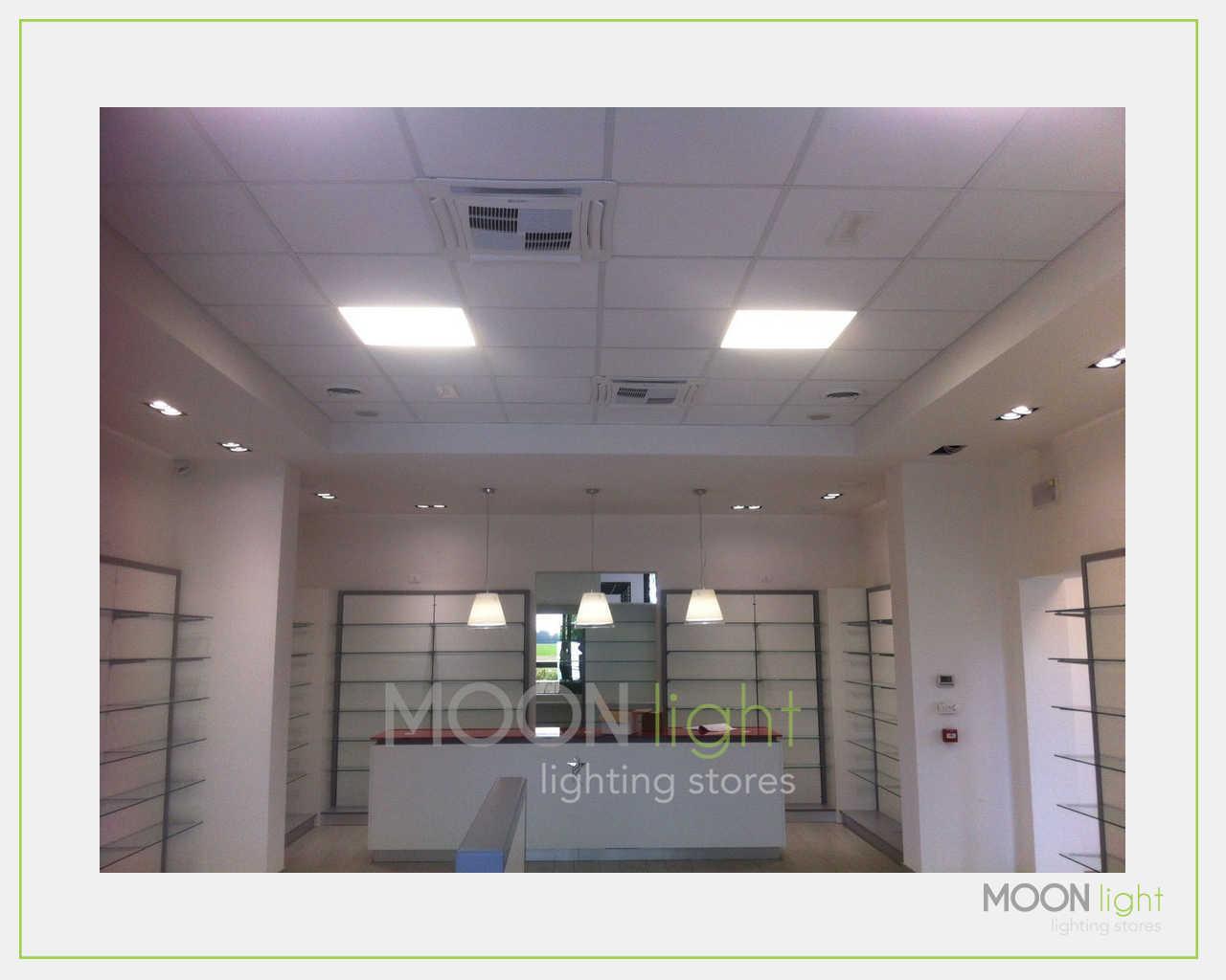 Illuminazione per farmacie illuminazione led negozi