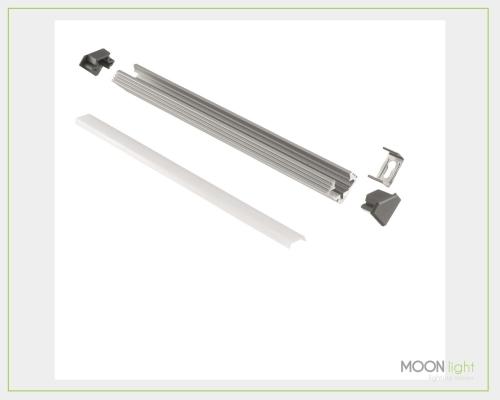 Profilo Alluminio Angolare 1mt