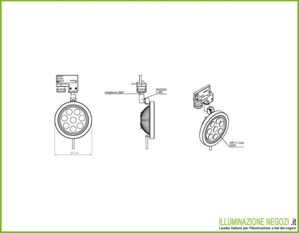 proiettore-led-minimal-tenico
