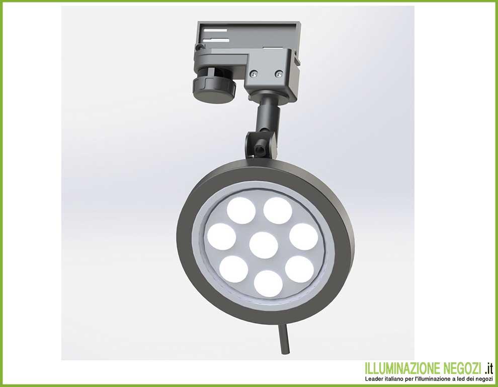 Proiettore led minimal illuminazione led negozi for Proiettore led