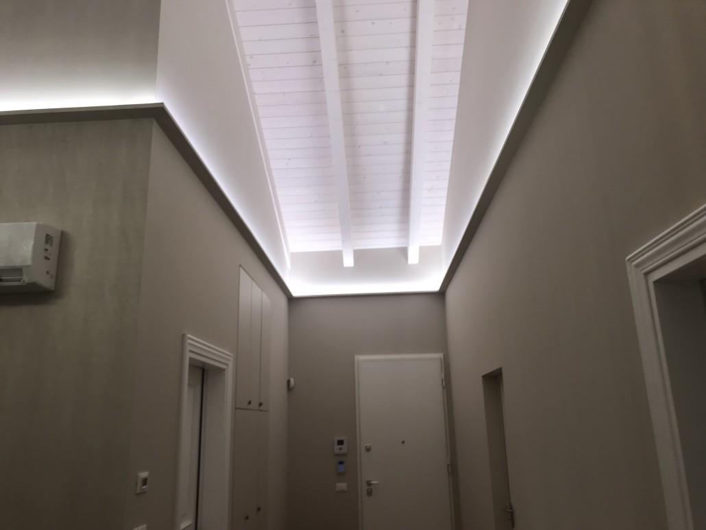 Illuminazione indiretta utilizzare il led per valorizzare
