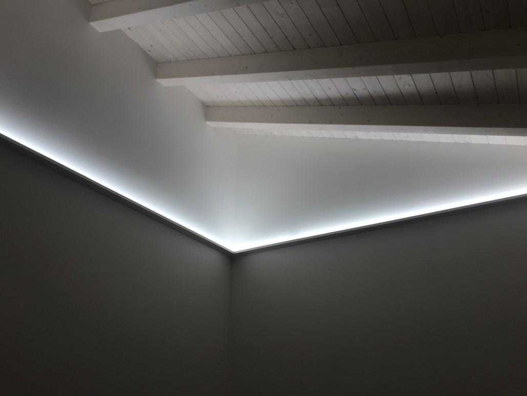 Illuminazione indiretta utilizzare il led per valorizzare soffitti