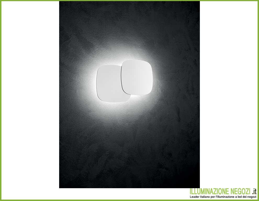 Quadro led doppio lampada da parete illuminazione indiretta
