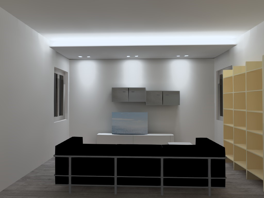Eccezionale Illuminazione Indiretta - utilizzare il led per valorizzare HB85